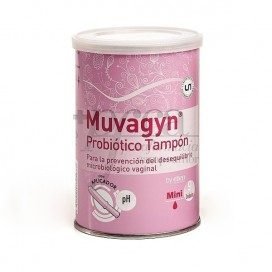 MUVAGYN PROBIOTIC MINI TAMPON WITH APPLICATOR 9 TAMPONS