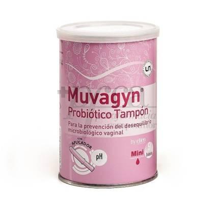 MUVAGYN PROBIOTICO TAMPON MINI CON APLICADOR 9U