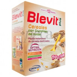 BLEVIT PLUS TROCITOS CEREAL/FRUTAS 600GR