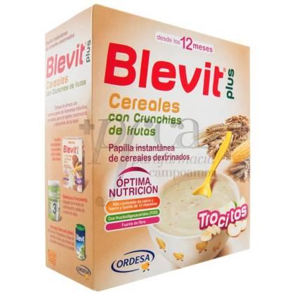 BLEVIT PLUS TROCITOS CEREAL/FRUTAS 600GR