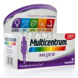 MULTICENTRUM MUJER 90 COMPS