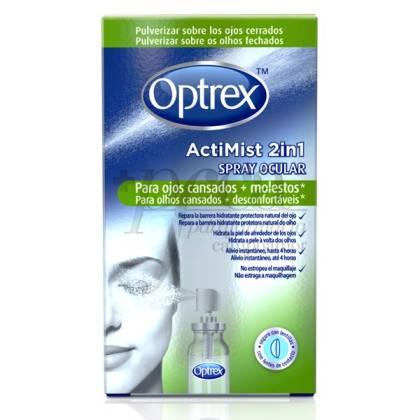 OPTREX ACTIMIST SPRAY 2EN1 OJOS CANSADOS/MOLESTO