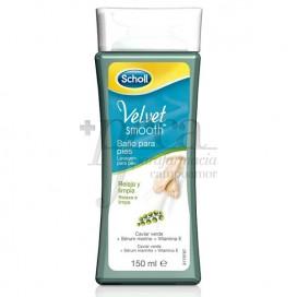 SCHOLL VELVET SMOOTH FEET BATH 150 ML