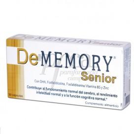 DE MEMORY SENIOR 30 CAPS