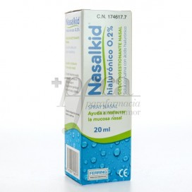 NASALKID HYALURONICO 0,2% SPRAY NASAL 20ML