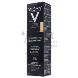 VICHY DERMABLEND 3D CORRECTION SPF25 OIL-FREE N15 30ML