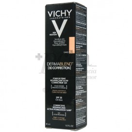 VICHY DERMABLEND 3D CORRECTION SPF15 OIL-FREE N35 30ML