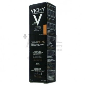 VICHY DERMABLEND 3D CORRECTION SPF25 OIL-FREE N55 30ML