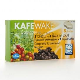 KAFEWAKE CAFEINA 8 CHICLES