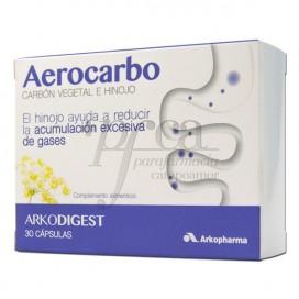AEROCARBO ARKODIGEST 30 CAPS
