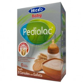 PEDIALAC PAPILLA 8 CEREALES Y GALLETA 6M+ 500G