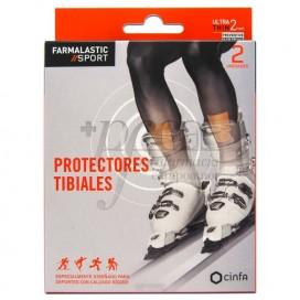FARMALASTIC SPORT 2 PROTECTORES TIBIALES T/U