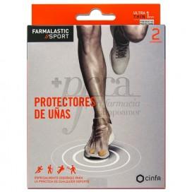 FARMALASTIC SPORT 2 PROTECTORES DE UÑAS T/S
