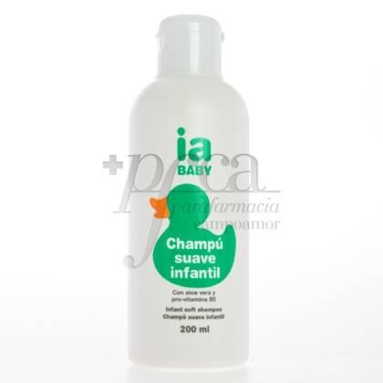 IA BABY CHAMPU SUAVE INFANTIL CON ALOE 200ML