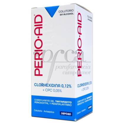 PERIO-AID COLUTORIO COADYUVANTE S/ALCOHOL 150ML