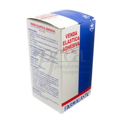 VENDA ELASTICA ADHESIVA FARMALASTIC 4,5