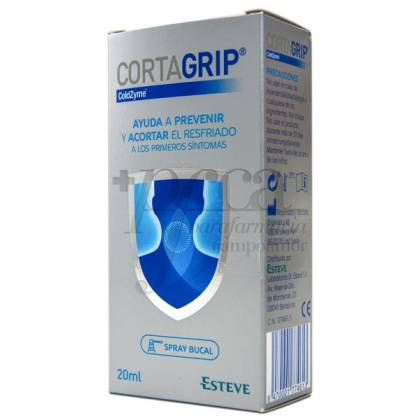 CORTAGRIP SPRAY BUCAL 20ML