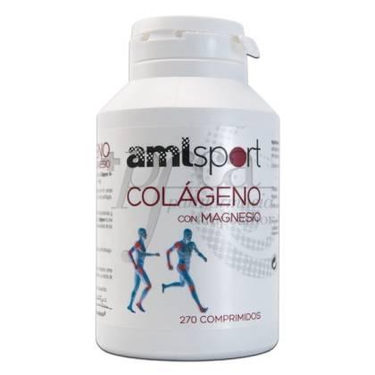 AMLSPORT COLAGENO CON MAGNESIO 270 COMPS