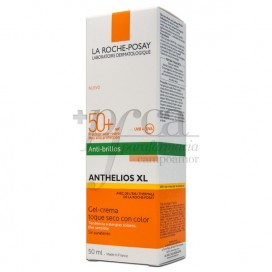 ANTHELIOS XL DRY TOUCH GEL WITH COLOR SPF50 50 ML