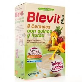 BLEVIT PLUS DUPLO 8 CEREALES QUINOA Y FRUTA 300G