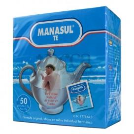 MANASUL CHÁ 50 SAQUETAS
