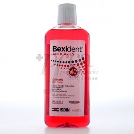 BEXIDENT ANTICARIES COLUTORIO USO DIARIO 500ML
