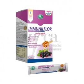 IMMUNILFLOR DRINK POCKET 16 SOBRES BEBIBLES