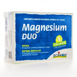 MAGNESIUM DUO  80 COMPS DE 500MG BOIRON
