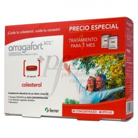 OMEGAFORT COLESTEROL 60 CAPS PROMO