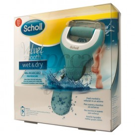 SCHOLL VELVET SMOOTH WET AND DRY LIMA PARA PIES