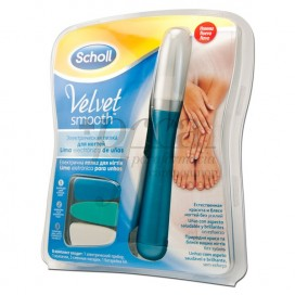 SCHOLL VELVET SMOOTH ELECTRONIC NAIL FILE