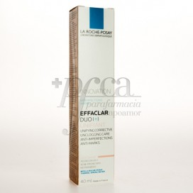 EFFACLAR DUO (+) UNIFIANT TONO CLARO 40ML