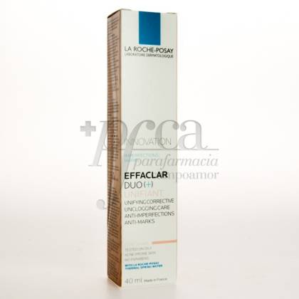 EFFACLAR DUO+ UNIFIANT TONO CLARO 40ML