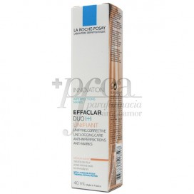 EFFACLAR DUO (+) UNIFIANT TONO MEDIO 40ML