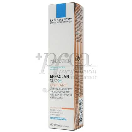 EFFACLAR ROCHE POSAY DUO UNI MEDIUM 40ML