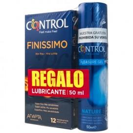 CONTROL FINISSIMO + LUBRICANTE NATURE PROMO