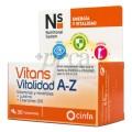 N+S VITANS VITALIDAD A-Z 30 COMPRIMIDOS