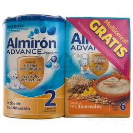 ALMIRON ADVANCE 2 800G +MULTICEREALES 500G PROMO