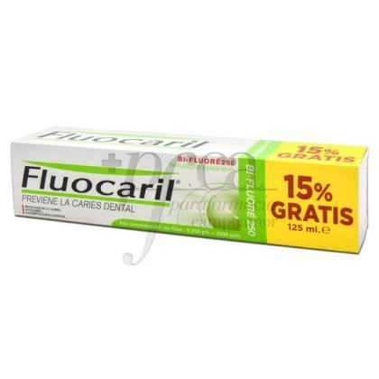 FLUOCARIL BI-FLUORE 250 125ML 15% GRATIS PROMO