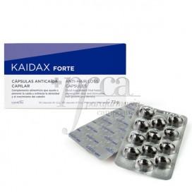 KAIDAX FORTE ANTICAIDA CAPILAR CAPS 60 CAPS