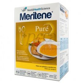 MERITENE PURE POLLO PATATAS ZANAHORIAS 450G