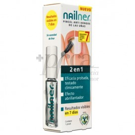 NAILNER PINCEL ANTI HONGOD DE LAS UÑAS 2EN1 5ML