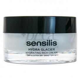 SENSILIS HYDRA GLACIER CREMA RICA SPF15 50ML