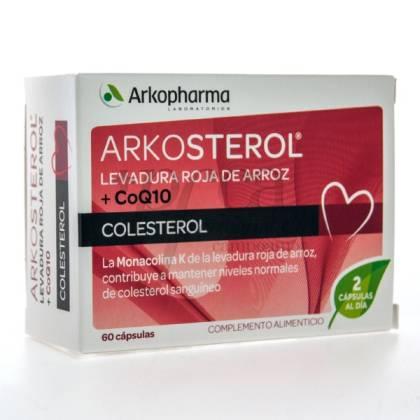ARKOSTEROL LEVADURA ROJA ARROZ Y CO Q10 60 CAPS