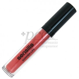 SENSILIS GLOSS SHIMMER LIPS 07 FRAISE 6.5ML
