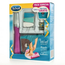 SCHOLL VELVET SMOOTH NAIL FILE + GIFT PROMO