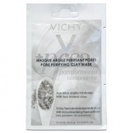 VICHY CLAY PURIFYING FACE MASK 2X6 ML