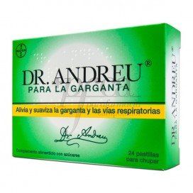 PASTILHAS DR ANDREU 24 PASTILHAS PARA LA TOS