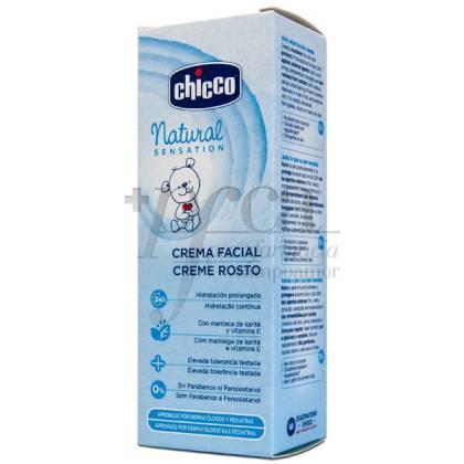 CHICCO NATURAL SENSATION CREMA FACIAL BEBE 50ML