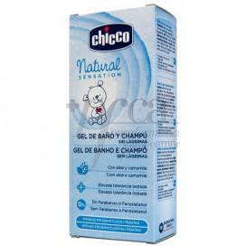 CHICCO NATURAL SENSATION BADEGEL UND SCHAMPOO 200 ML